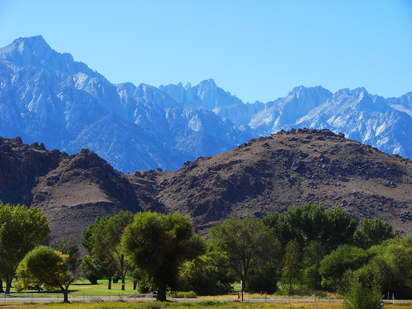 Mt. Whitney from the Owens Valley
